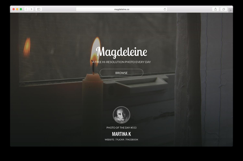 Bancos de Imagens Gratuitos: Magdeleine