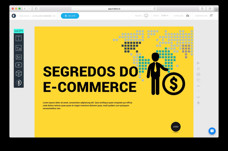 Bancos de Imagens Gratuitos: Trakto.io - o melhor editor de materiais para marketing