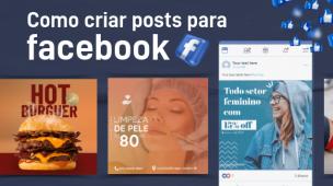 como criar post para facebook