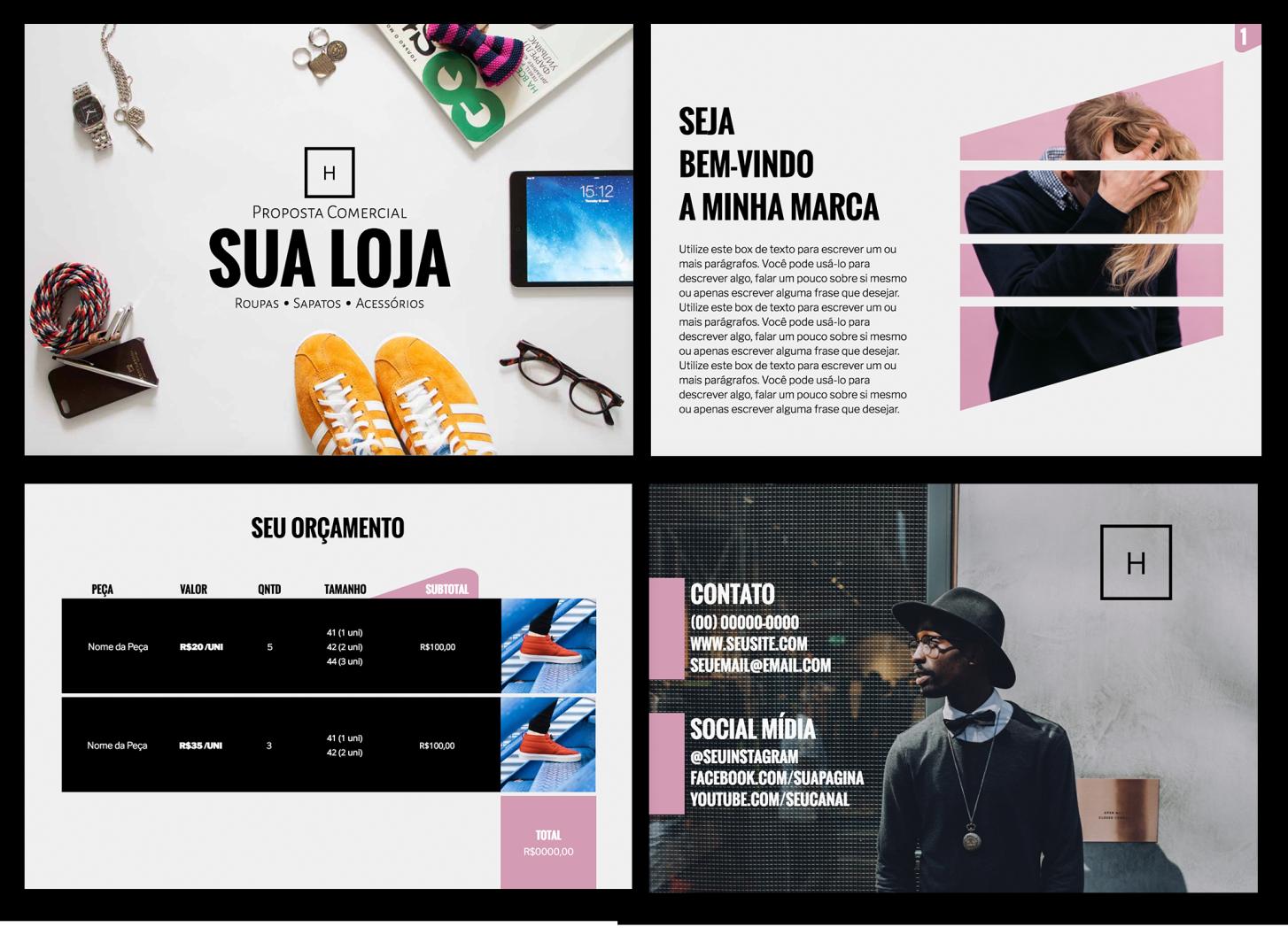 fashion store proposal - Proposta de prestação de serviços : 10 formatos e modelos que fecham vendas