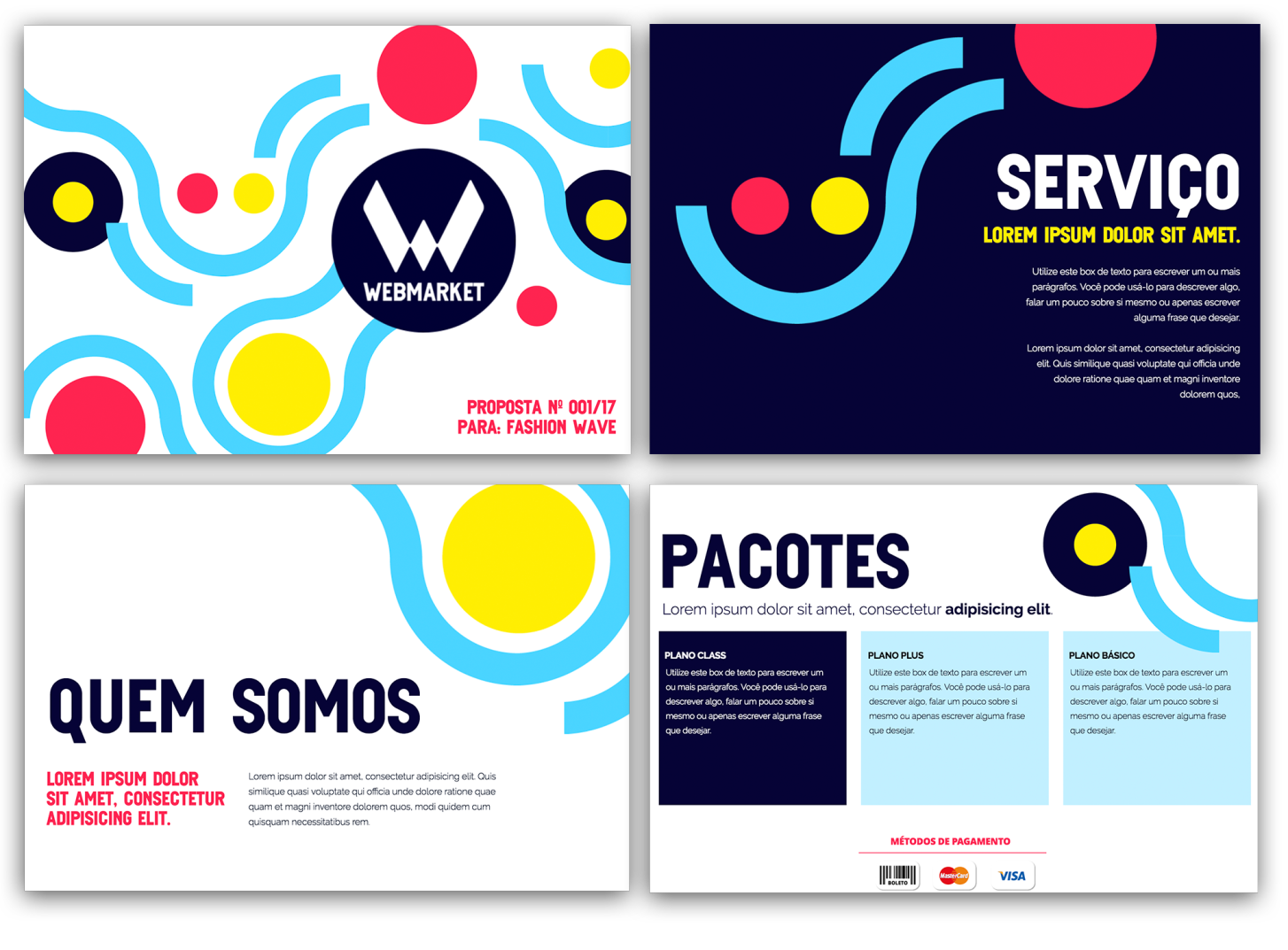 market proposal - Proposta de prestação de serviços : 10 formatos e modelos que fecham vendas