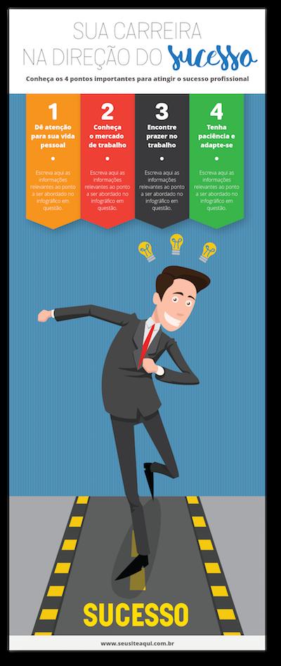 modelo de infográfico 1 - Como fazer um infográfico matador para o seu negócio