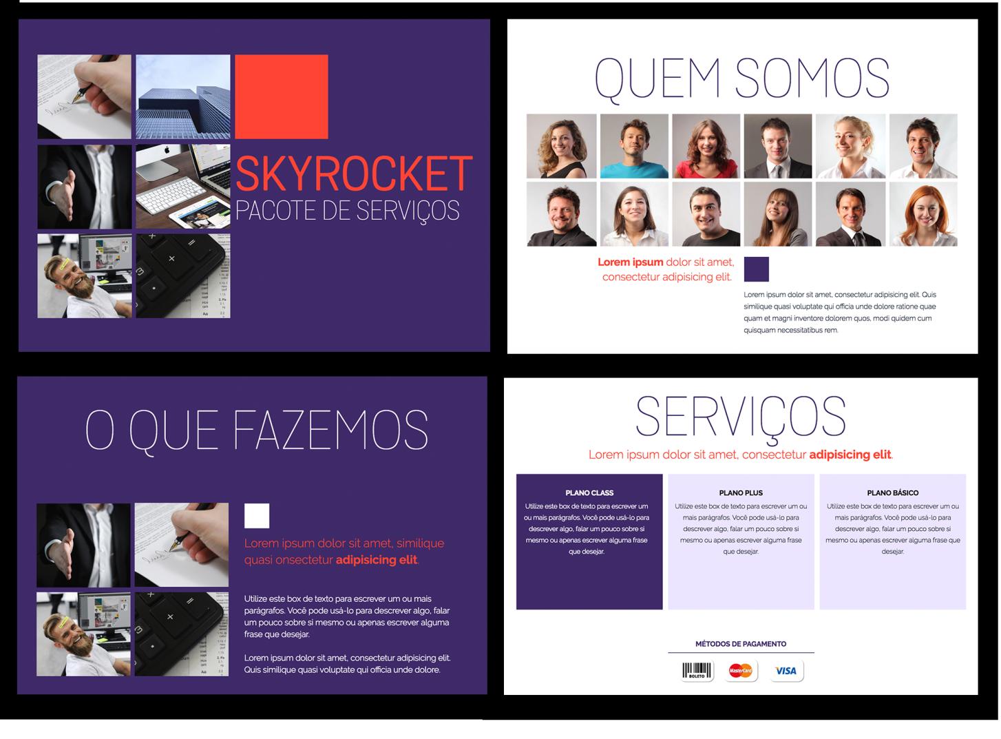 servicos proposal - Proposta de prestação de serviços : 10 formatos e modelos que fecham vendas
