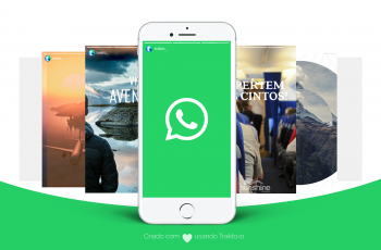 Crie imagens de status para WhatsApp e divulgue seu negócio