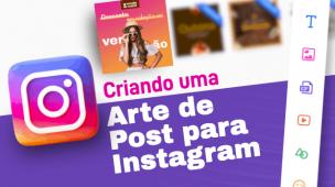 arte para post do instagram