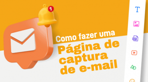 página de captura de e-mail