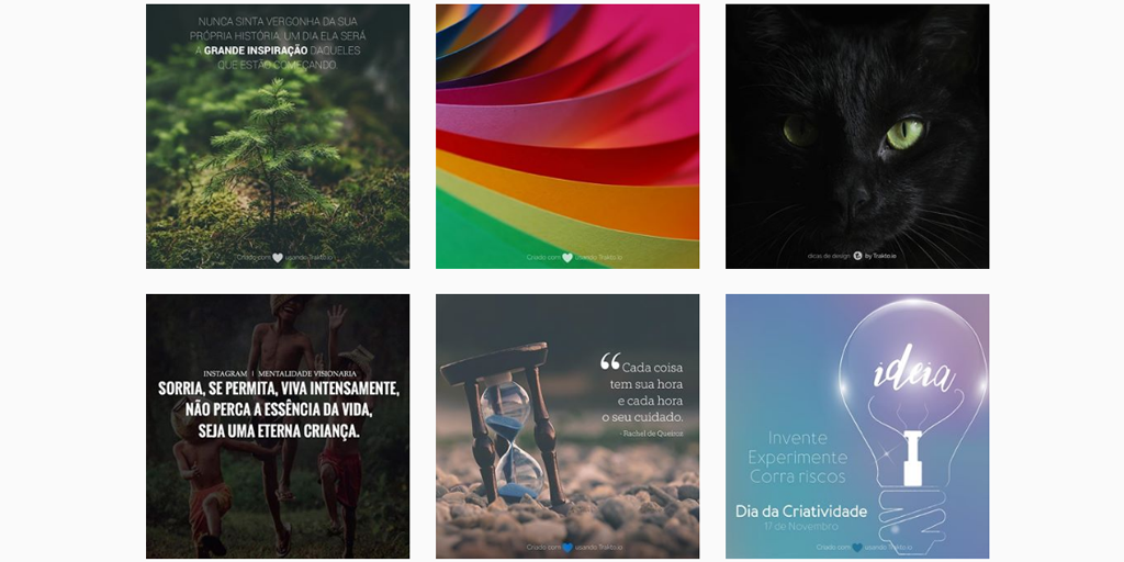 traktooo - Imagens do Instagram: aprenda a criar e encantar seus seguidores
