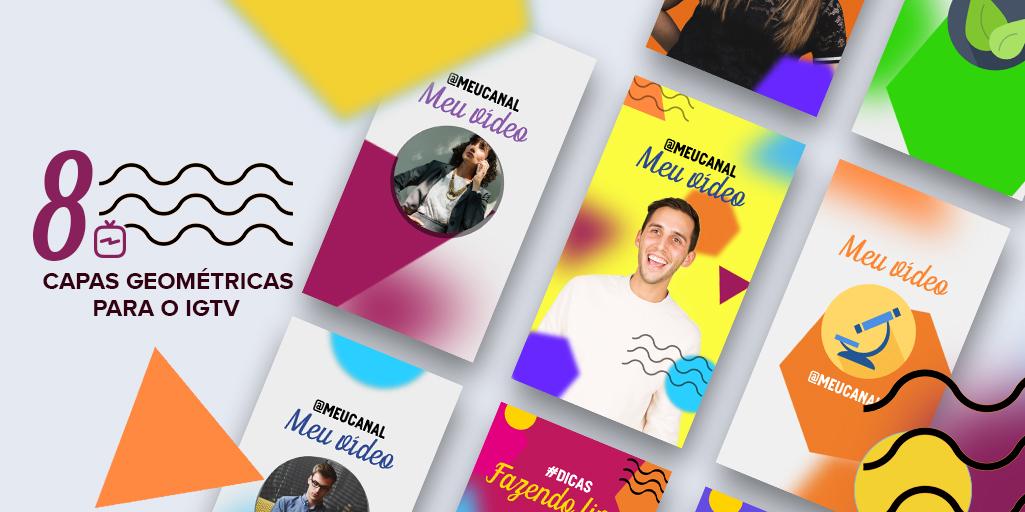 8 modelos de capas para o IGTV