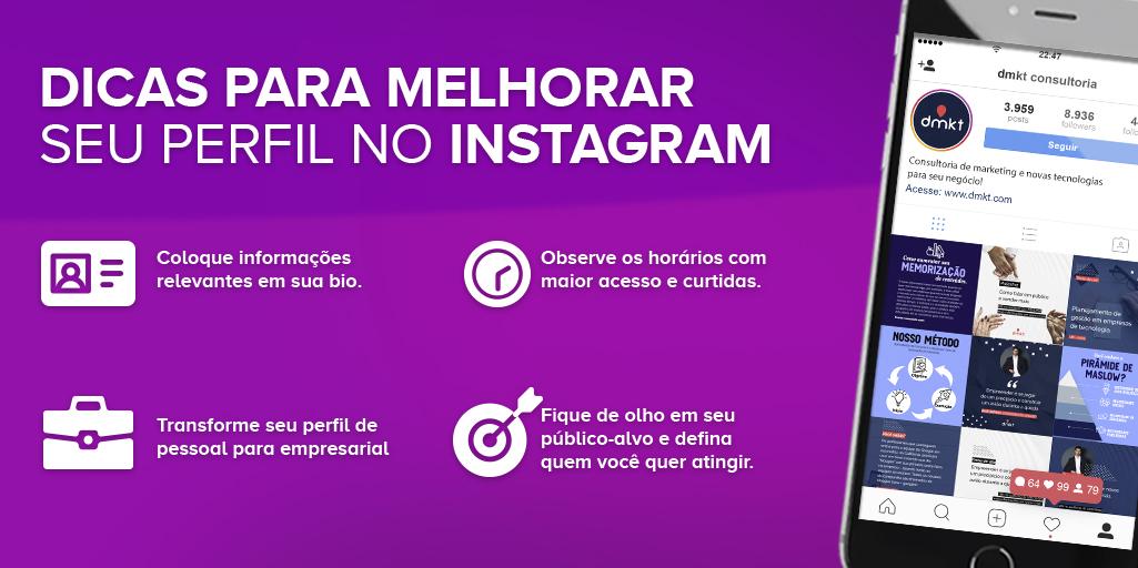 Como criar infográficos: Exemplo de Infográfico - Instagram