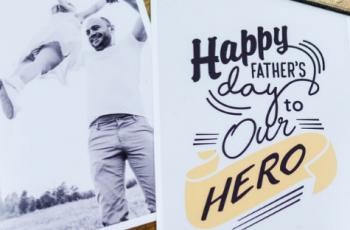 Aprenda a criar um cartão para o dia dos pais