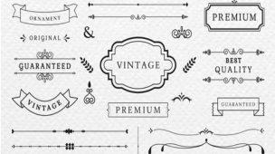 criar logo vintage