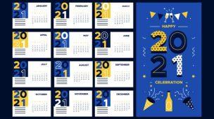 calendário editorial de marketing de conteúdo