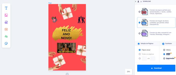 cartaodeanonovoonline5 - Cartão de ano novo online: como criar um especial?
