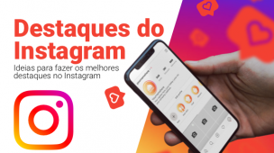 criar capas de destaque do instagram