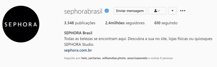 bioperfeitaparainstagram4 - Como criar a bio perfeita para Instagram? Boas práticas + exemplos
