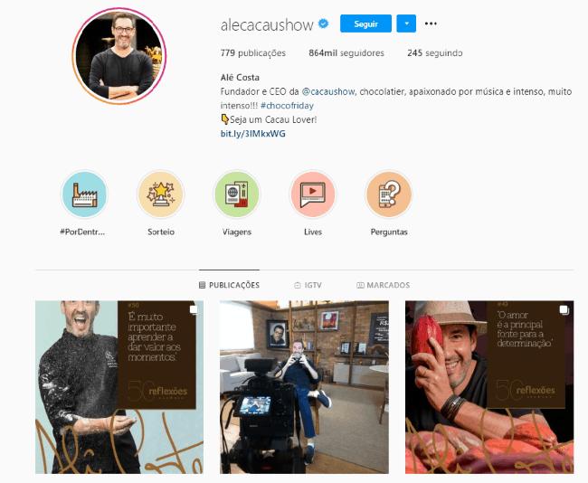 bioinstagramempreendedor2 - Como criar uma bio para Instagram de empreendedor de arrasar?