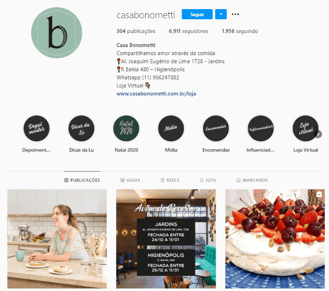 bioparainstagramdedoces4 - Como criar uma bio para Instagram de doces de dar água na boca?