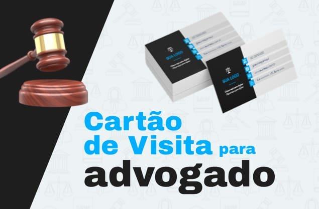 Melhores exemplos de cartão de visita de advogado: top 5 originais