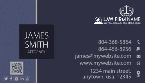 exemplosdecartaodevisitadeadvogado5 - Melhores exemplos de cartão de visita de advogado: top 5 originais