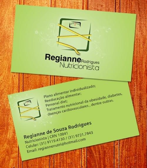exemplosdecartaodevisitaparanutricionista2 - Exemplos de cartão de visita para nutricionista: 5 referências para conhecer