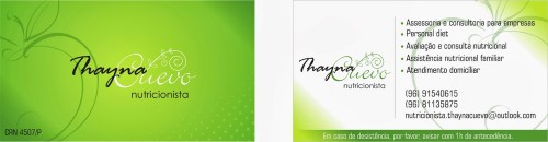 exemplosdecartaodevisitaparanutricionista3 - Exemplos de cartão de visita para nutricionista: 5 referências para conhecer