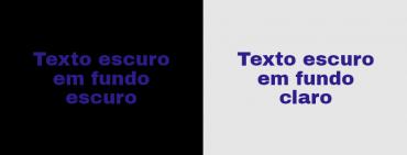 texto claro escuro 370x141 - Como usar diferentes tipos de fontes: tipografia para não designers