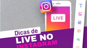 dicas para live no instagram