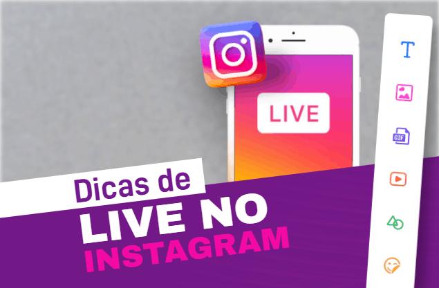 Dicas para live no Instagram: top 5 para impressionar seguidores