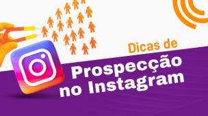 prospecção pelo instagram