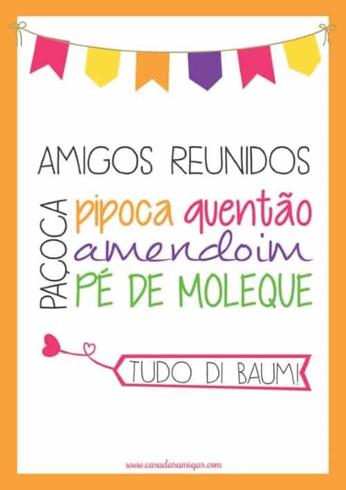 posterdefestajunina3 - Poster de festa junina: ideias e exemplos muito além do quentão!