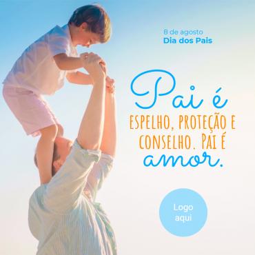 Post Dia dos Pais clone 1 370x370 - Modelos de posts para o dia dos pais para Facebook e Instagram