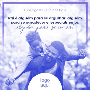 Post Dia dos Pais clone 370x370 - Modelos de posts para o dia dos pais para Facebook e Instagram